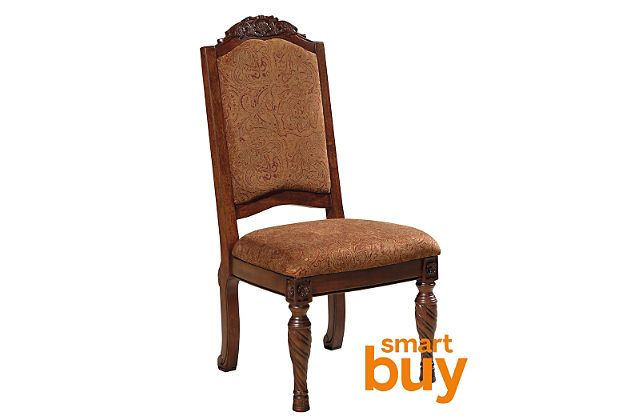 Dark Brown North Shore Dining Room Chair View 1 Dinning Room