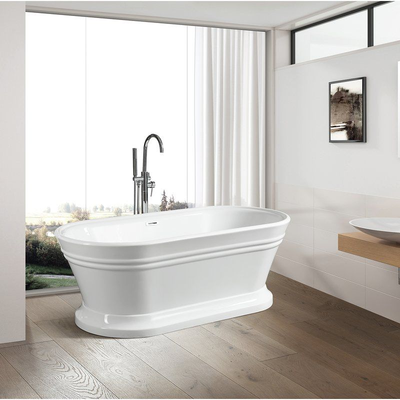 59 X 30 Freestanding Soaking Bathtub Soaking Bathtubs Small