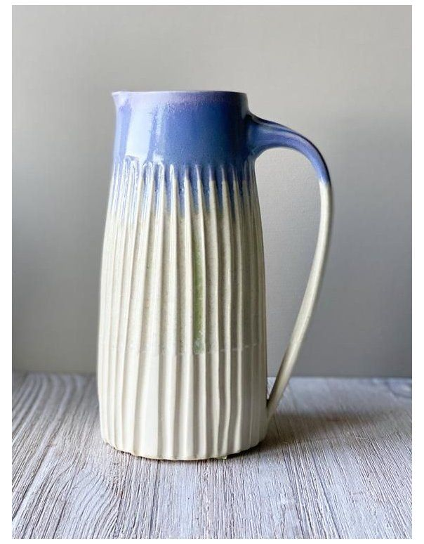 hand thrown pottery pitchers