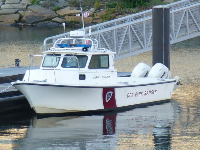 DCR Park Rangers boat Department of conservation and Recreation ...