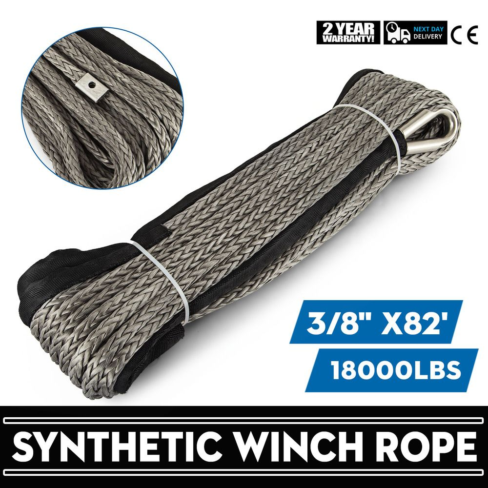 Ebay Sponsored 82ft3 8 Synthetic Winch Rope Winch Cable 25m10mm Fiber Heavy Loading Great Synthetic Winch Rope Winch Rope Winch Cable