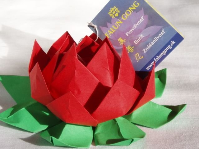 How To Make An Origami Lotus Flower Dy Tutorial Video Knitting