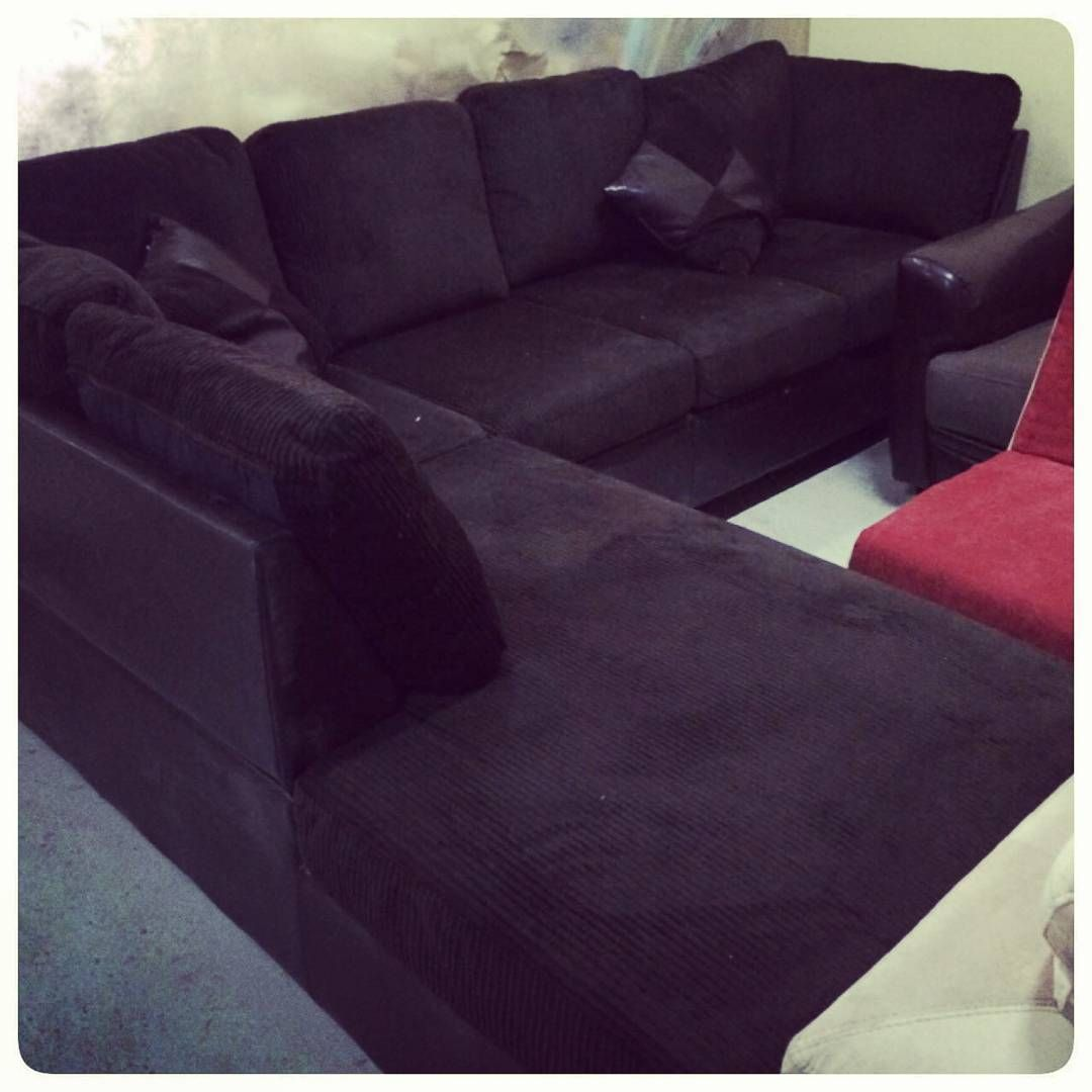 For Sale Sofa L Style For 6 Person New Price 115 Bd للبيع جلسة على شكل L لون بني جديد السعر 115 Bd Tel 33770050 In 2020 Sectional Couch Furniture Couch
