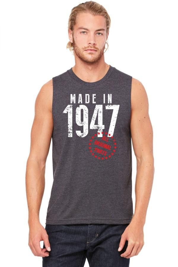 made in 1947 all original parts 1 Muscle Tank