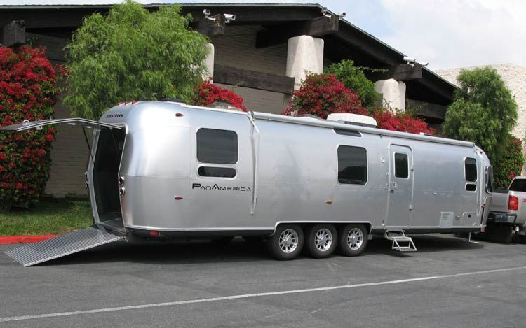 Airstream Pan American Only 25 Of These Toy Haulers Made