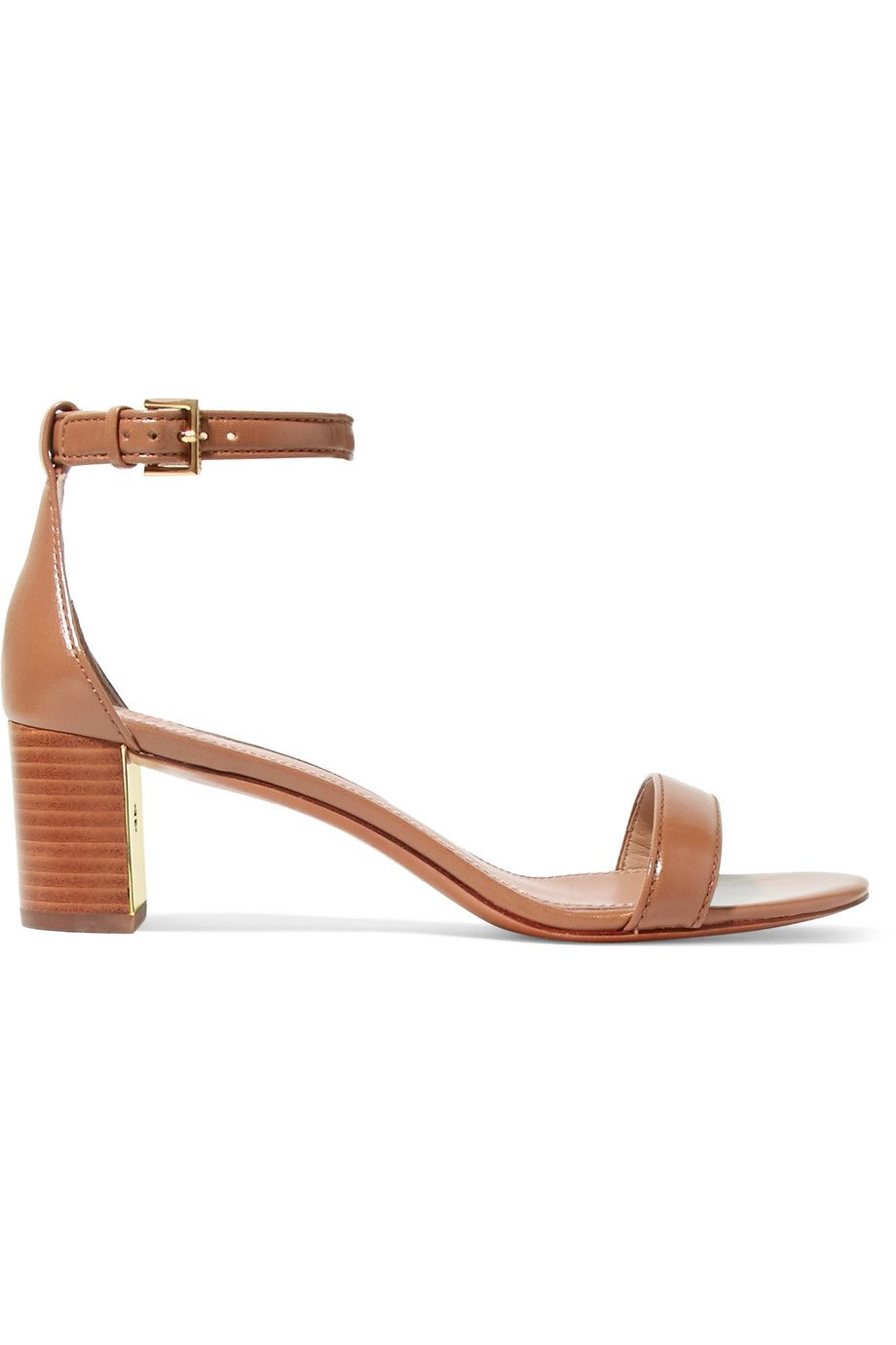TORY BURCH Cecile leather sandals. #toryburch #shoes #sandals
