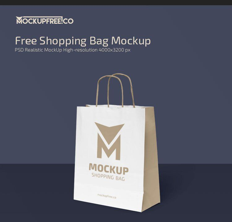 Download 65 Free Professional Shopping Bag Mockups And Premium Version Free Psd Templates Bag Mockup Shopping Bag Bags