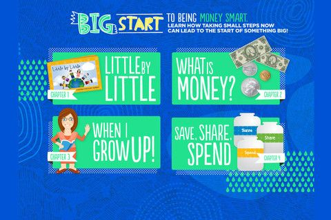 """Big Start"" Free financial literacy app for kids to help"