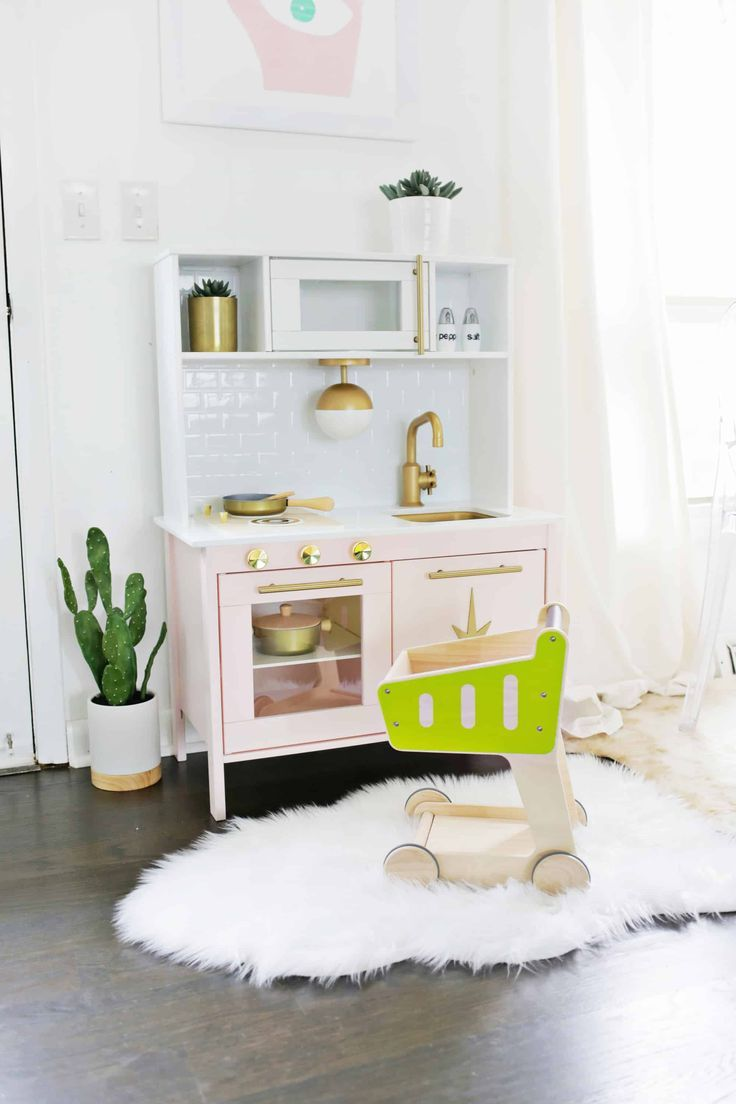Best Mid Century Modern Ikea Play Kitchen Hack With Images 640 x 480