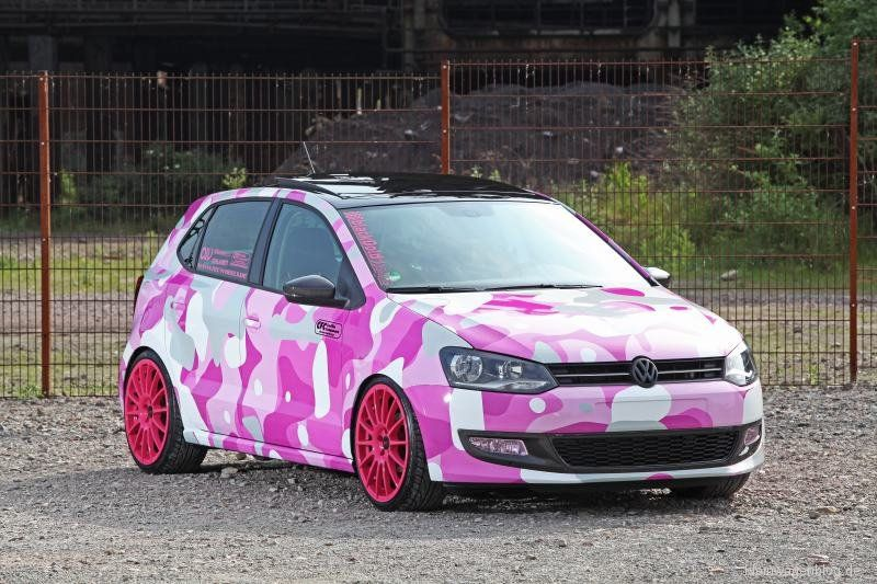 Vw Polo 6r Winter Camo Hidden In Plain Sight Sommer