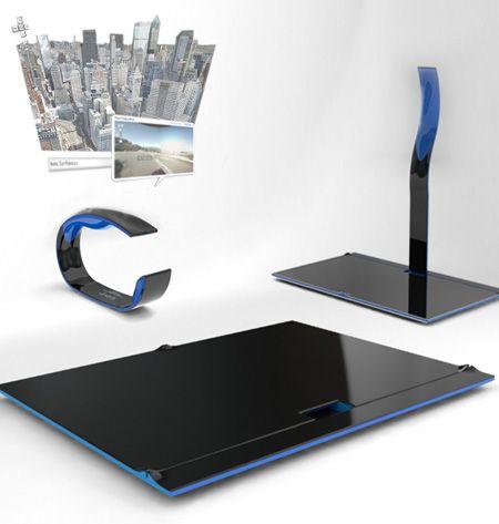 HOLO 2.0, future wearable computer, future computer, wearable computer, computer concept, smart devices, futuristic gadgets