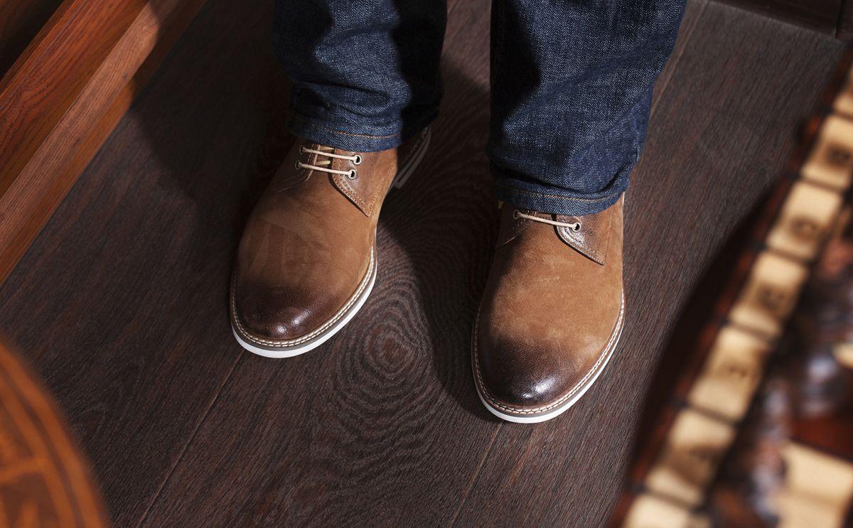 Comment mettre en valeur ses chaussures     Chaussure montante ... 0a32b9498e5c