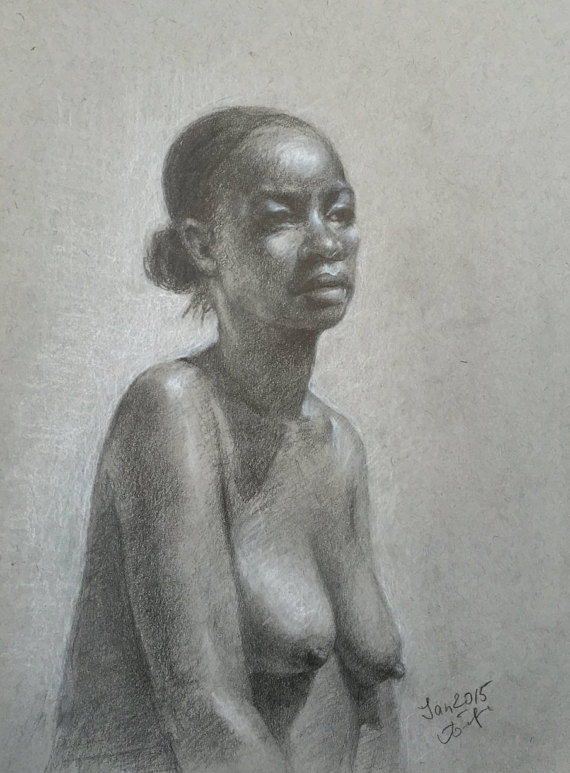 figure drawing models Nude female