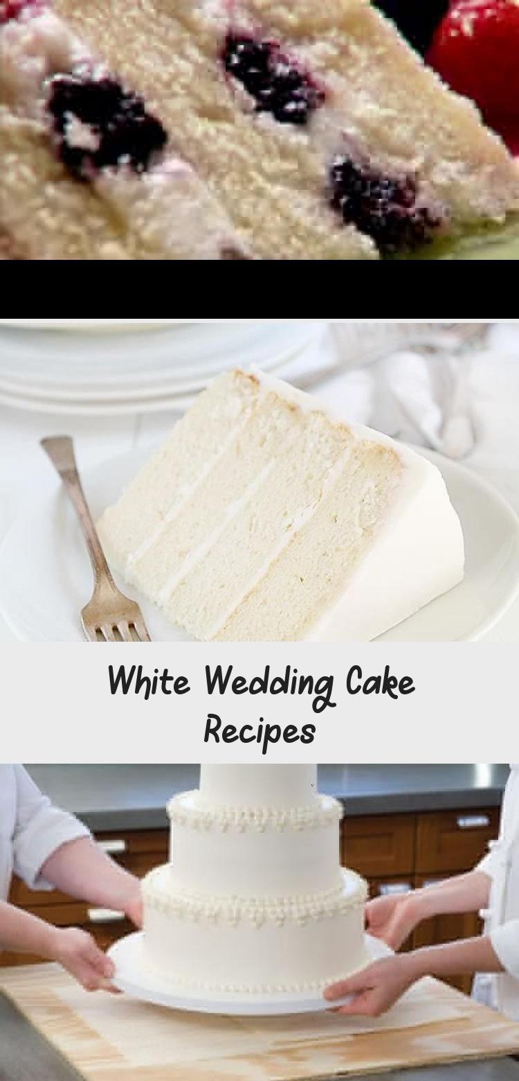 White Wedding Cake Recipes With Images Wedding Cake Recipe Almond Wedding Cakes Wedding Cake Flavors