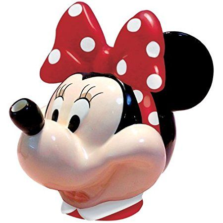 Westland Giftware 48-Ounce Minnie Mouse Ceramic Teapot, 7-Inch