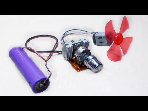 How To Make DC Motor Speed Controller - Simple DC Motor ...
