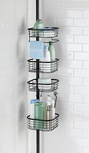 5d6bbf42c3b6e599cd94fabf088cfca4 - Better Homes And Gardens Contoured Tension Pole Shower Caddy Instructions
