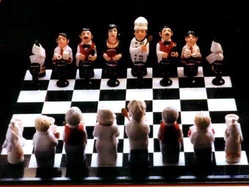 Restaurant Chess Set