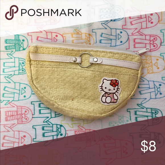 Aloha Hello Kitty wallet Can fit you credit cards,cash, change and some cosmetics if your like me and can't leave the house without any Bags Wallets