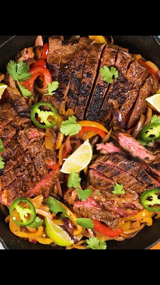 Easy Skirt Steak Fajitas images