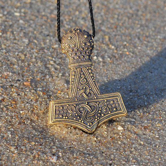 replica bredsatra thors hammer mjolnir bronze thor