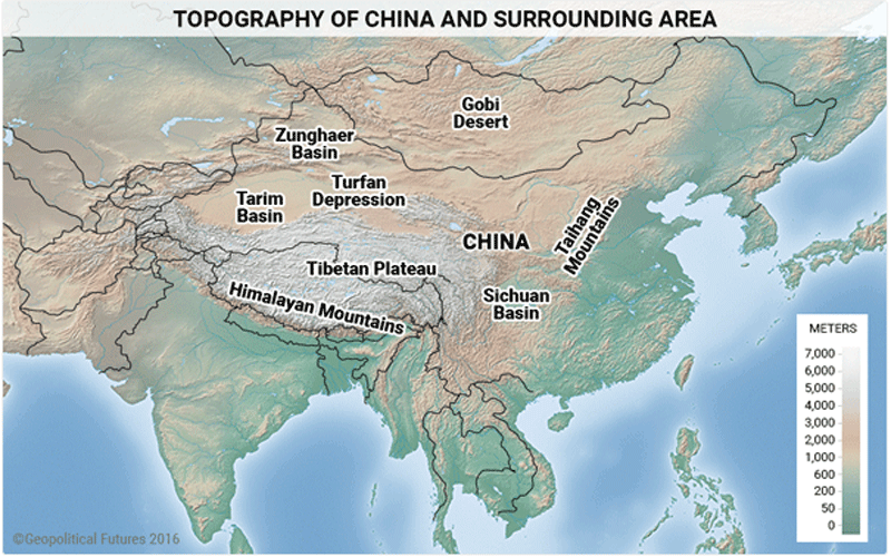 Map Of China And Surrounding Areas.5 Maps That Explain China S Strategy Maps Pinterest China Map