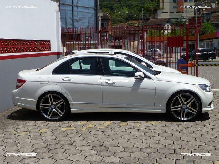 MyRide - Mercedes C200 com rodas aro 20MyRide | Nice Life Problems
