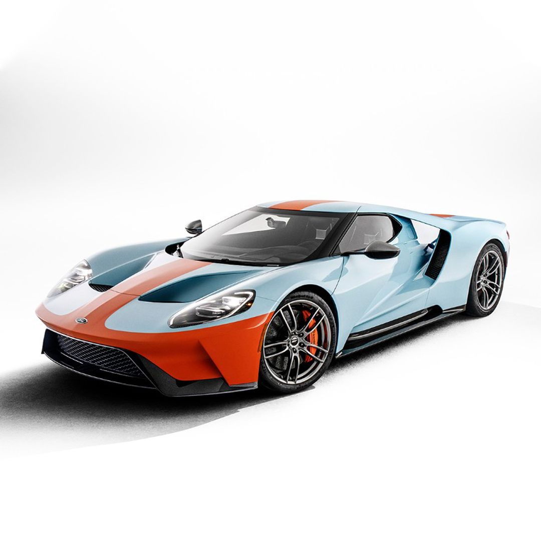 United Way Auctioning 2019 Ford Gt Gulf Heritage Edition Vin 001 Tapping Racing History To Improve Lives Today Barrett Jackson Auction Company World S Great Ford Gt Ford Gt Gulf Ford