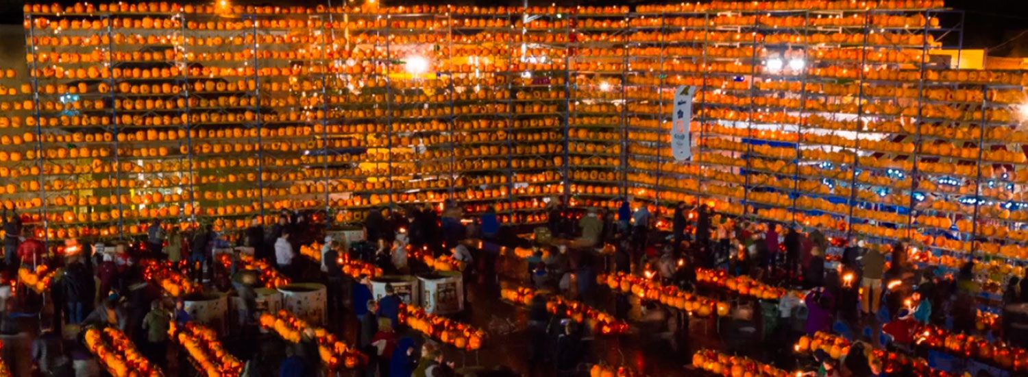 Highwood Pumpkin Festival - North of Chicago, IL...25,000 Jack-O ...