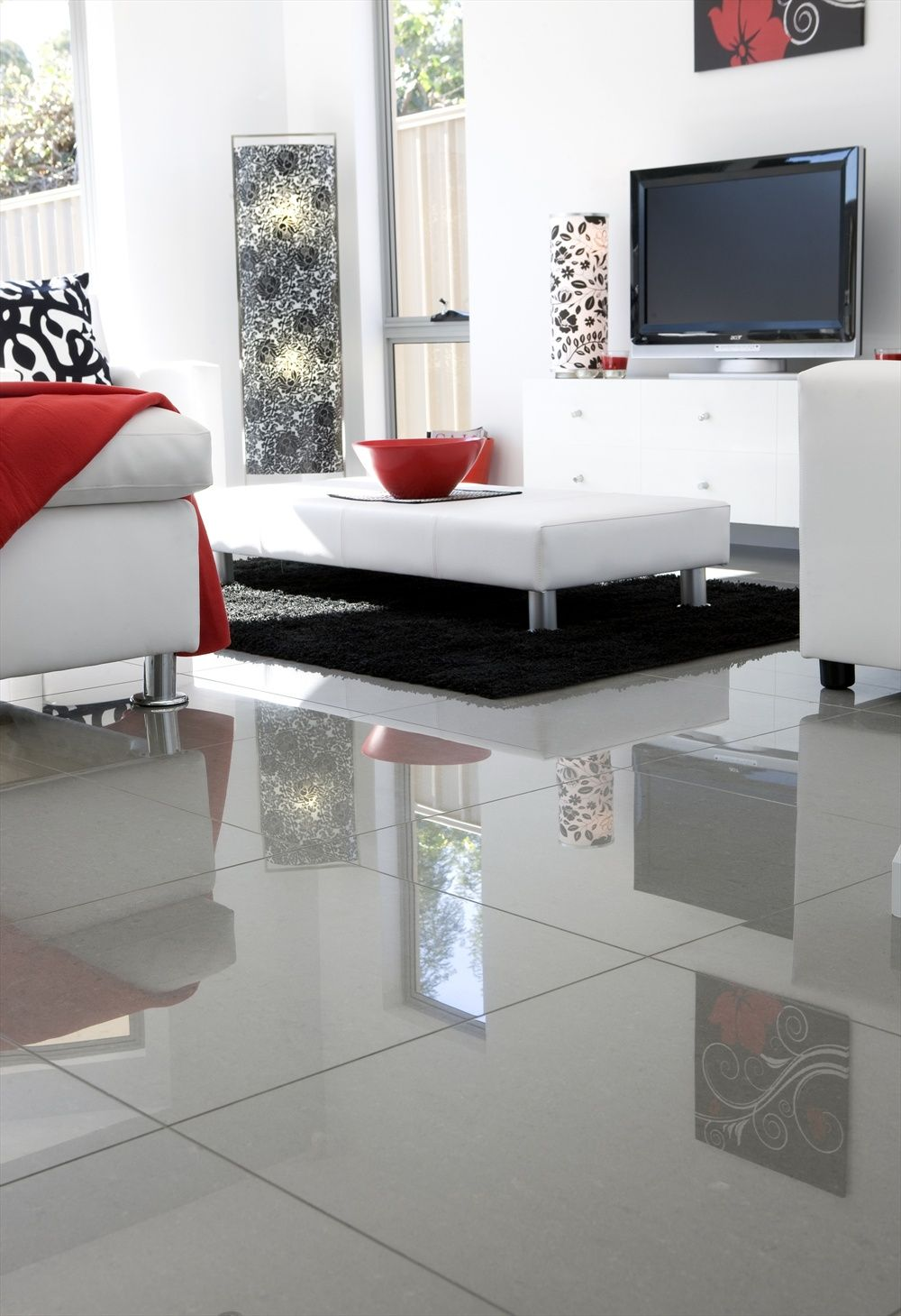 Tile Floor Designs For Living Rooms