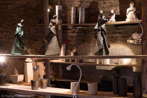 atelier de c ramique en bretagne dans le centre finist re cours et stages de poterie tournage. Black Bedroom Furniture Sets. Home Design Ideas