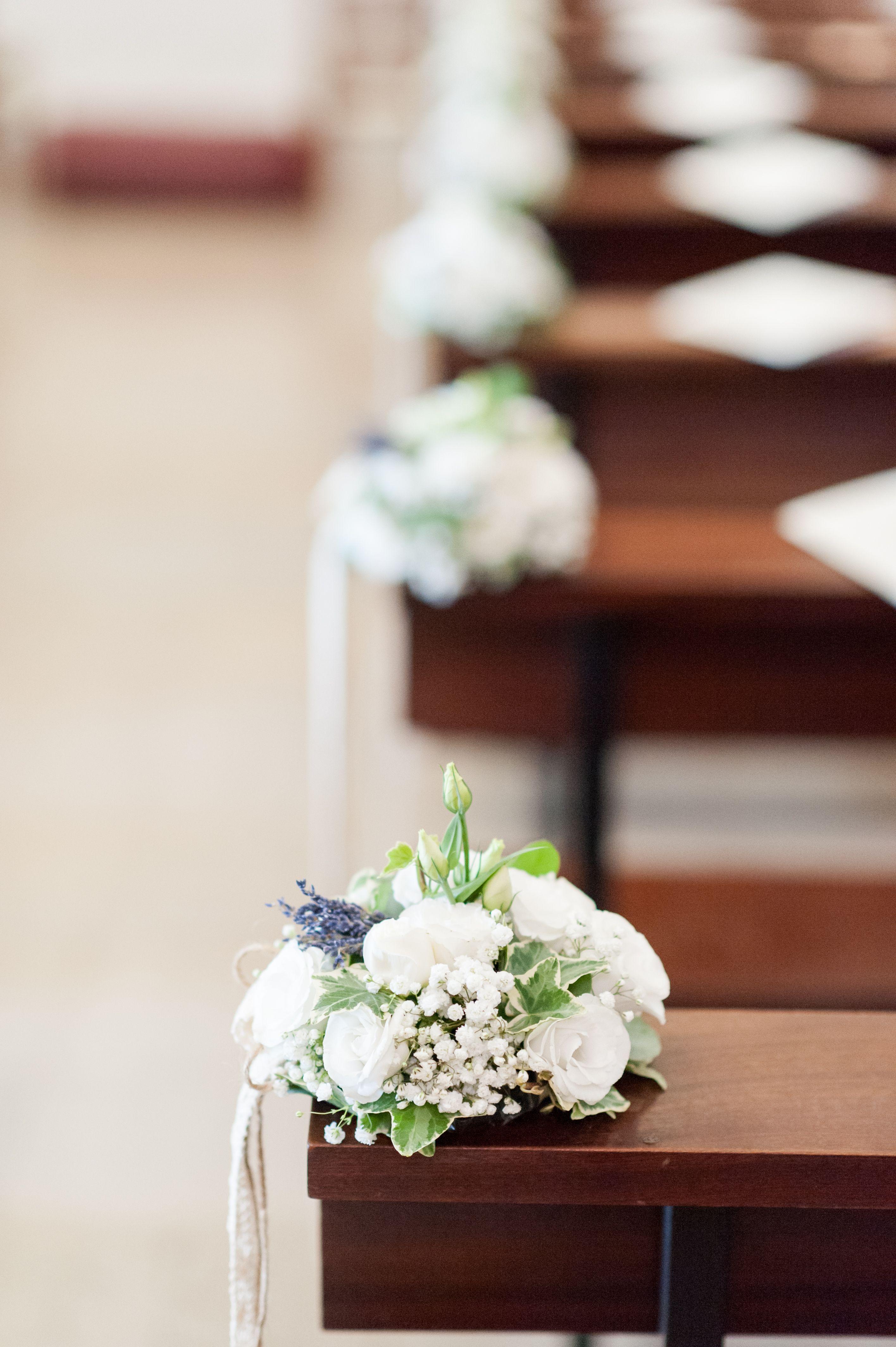 Come allestire la chiesa, con gusto ed eleganza, il giorno del matrimonio