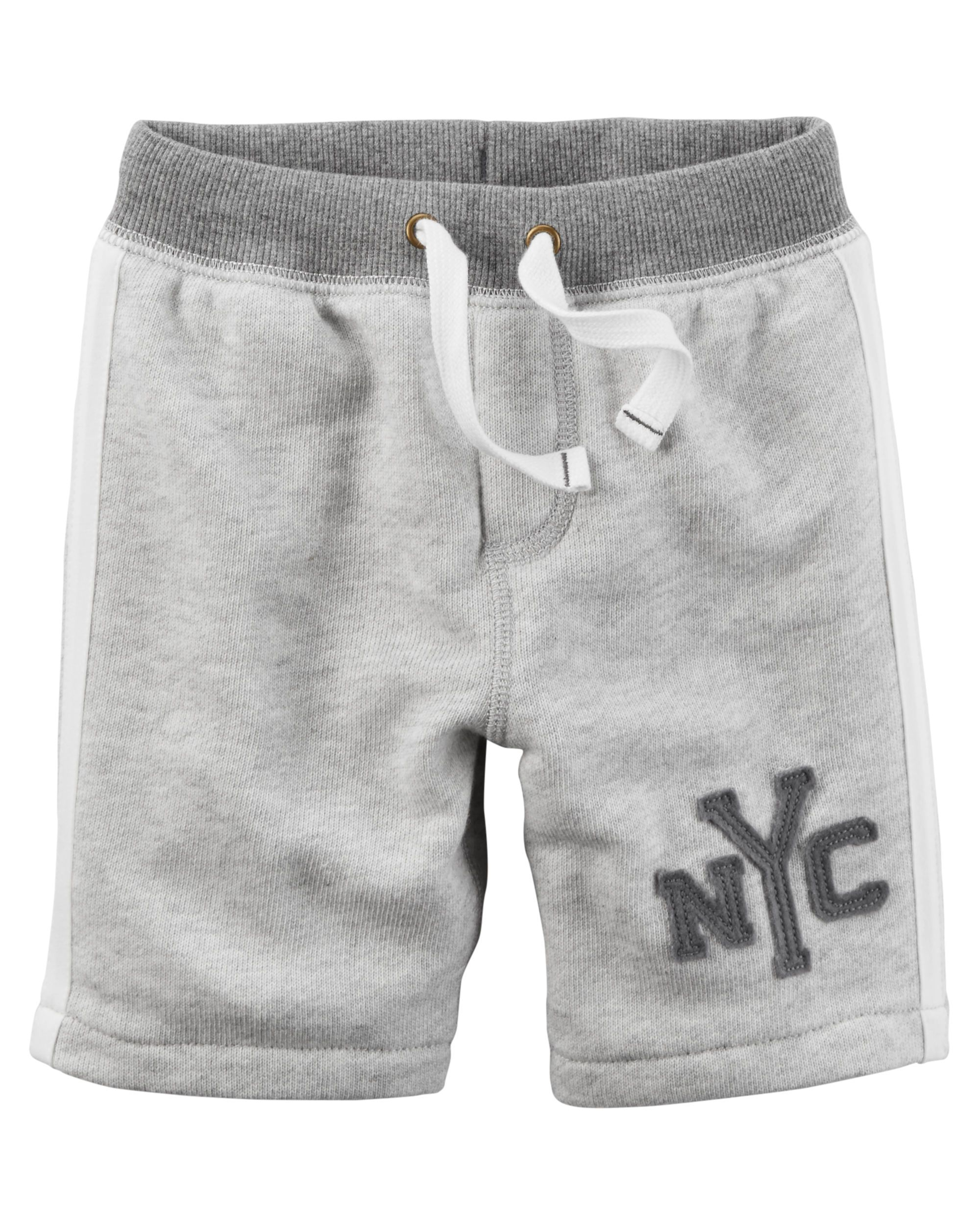 1f41be8fb26 Kid Boy Athletic Marled French Terry Shorts from Carters.com. Shop clothing    accessories from a trusted name in kids