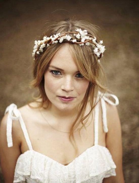 Oh Mywedding Coronas De Flores Para Las Novias Flower Crown