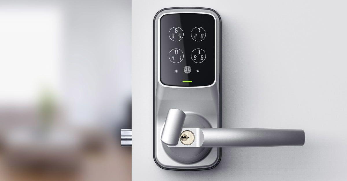 Magnificent This Smart Lock System Adds A Fingerprint Sensor To Your Door Handles Collection Dhjemzonderlifede