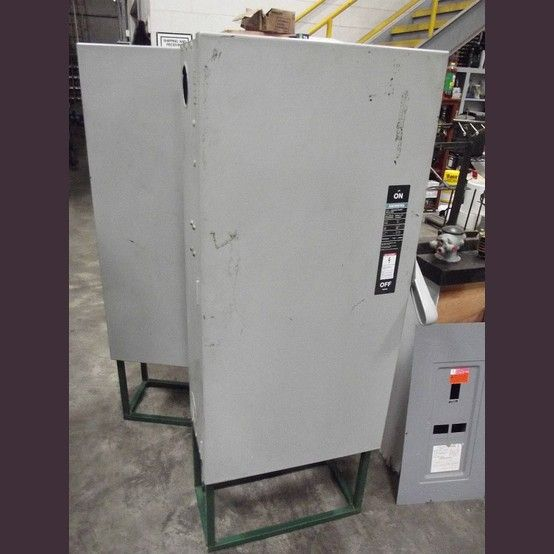 Catalog No F 355 Volts 600 Vac Fusible And Comes With Fuses Vacu Break Switch With Clampmatic Contacts Series B Type 1 Locker Storage Siemens Storage