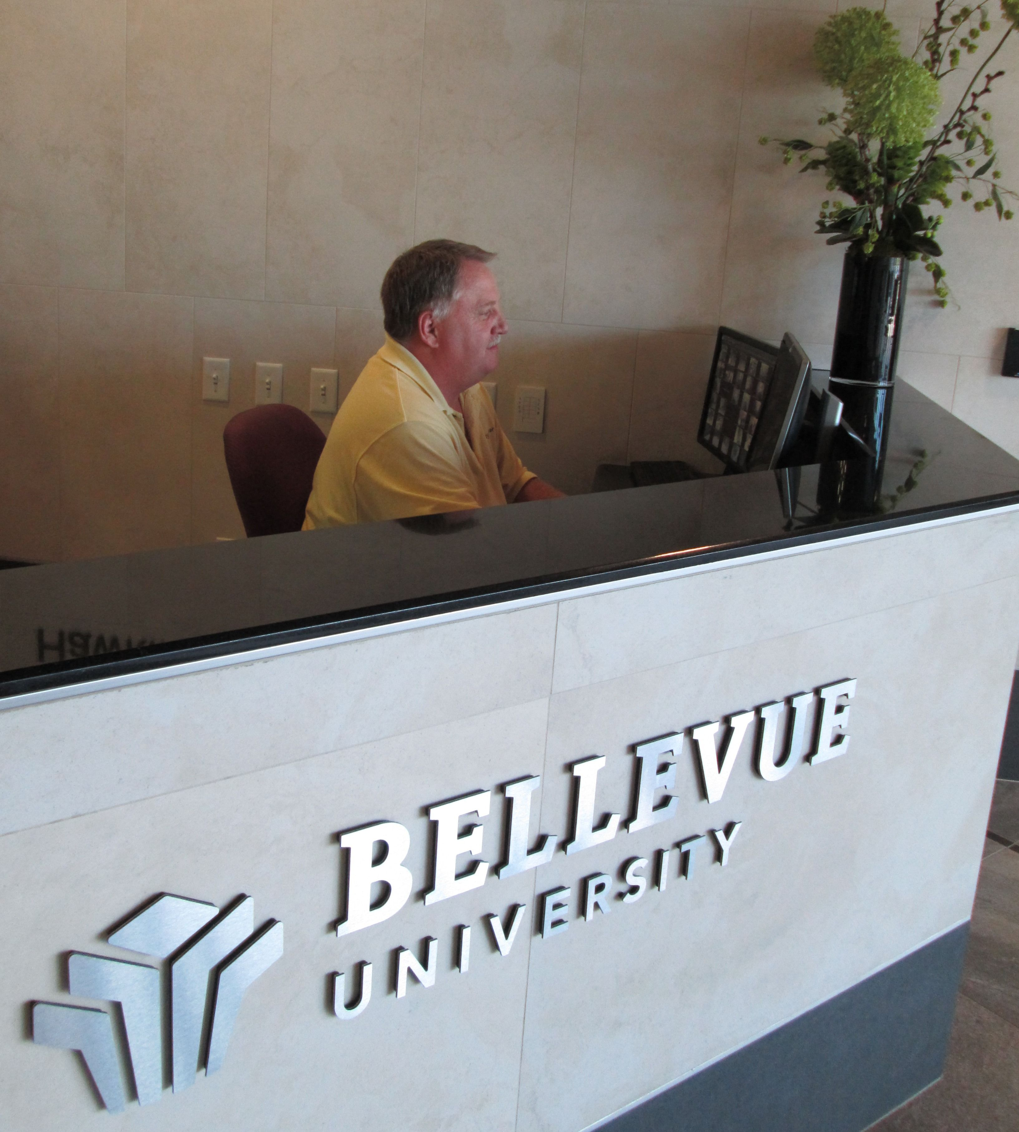 Security at Bellevue University. September is National