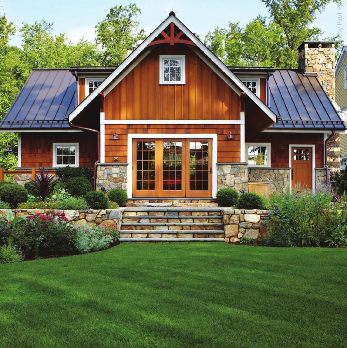 Modern House Red Roof: #ClippedOnIssuu From East Coast Home Design March / April