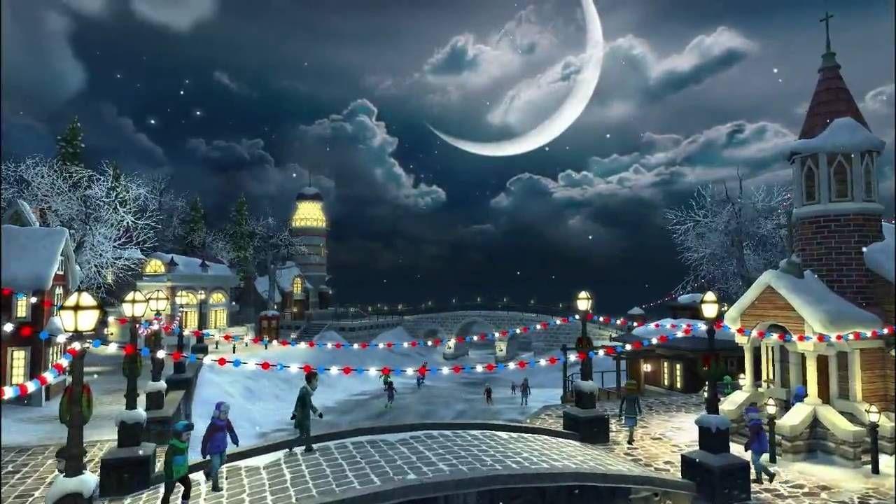 Snow Village 3d Live Wallpaper And Screensaver Christmas