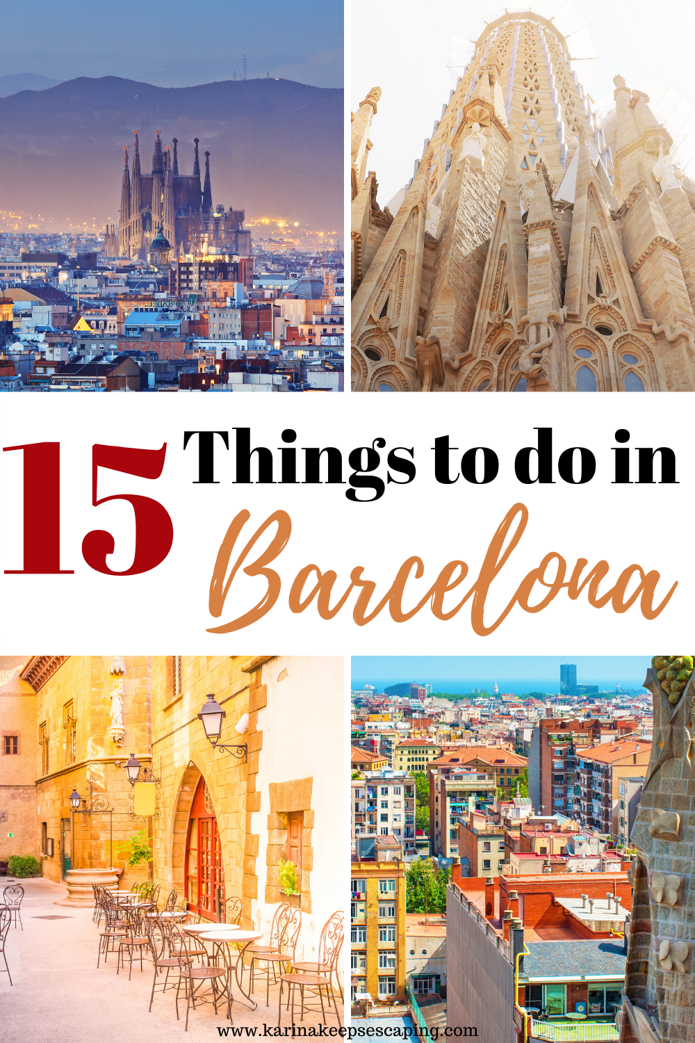 Are you ready to explore the Best Things to do in Barcelona with me? There is something for everyone. For students seeking their University exchange programs, for couples looking for a romantic getaway, to families with kids and those who just want to enjoy some architecture and history. | Barcelona | Spain | Visit Spain | Best Things to do in Barcelona | What to do in Barcelona | Where to stay in Barcelona