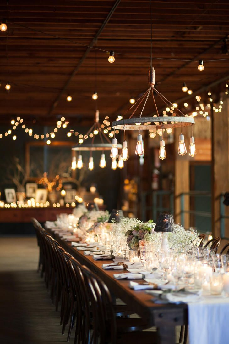 Atwood Ranch Barn Reception With Stringed Lighting Photo Julie Mikos Photography Fls Wedding 2017diy