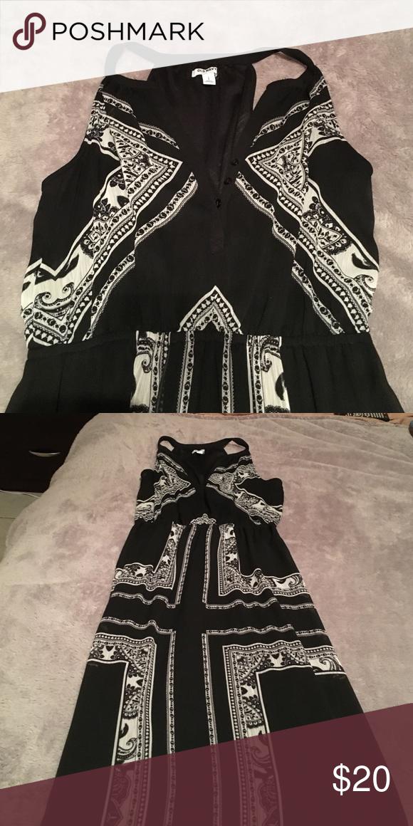 Maxi Dress Floor length, sleeveless Old Navy Dresses Maxi
