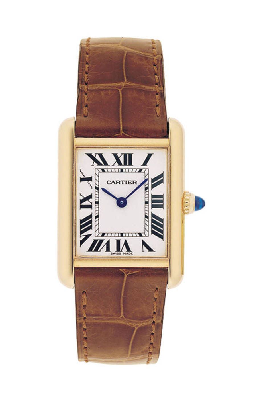 watch cartier swiss collection ref americaine image gold large tank watches white