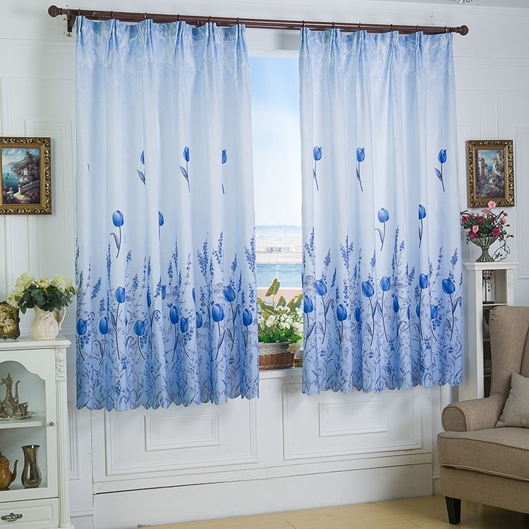 short blue curtains - Google Search