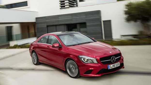 The New Mercedes Cla250 Borrows From The Familiar Mercedes Benz