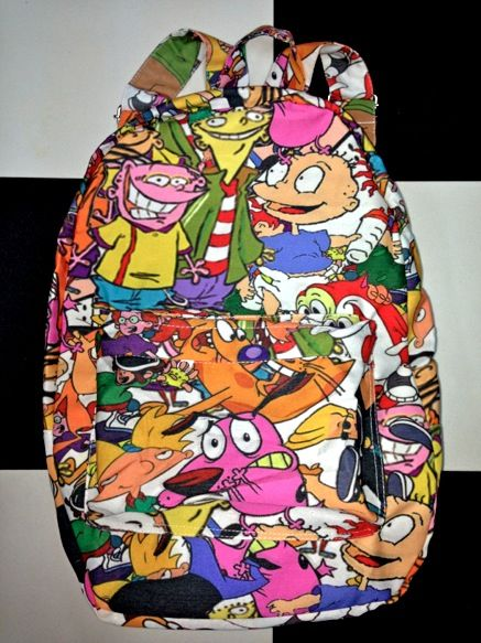 SWEET LORD O MIGHTY! 90 z Cartoon Backpack  d17771569b5
