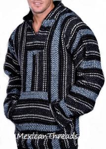 sky blue baja hoodie drug rug | Baja hoodie, Baja jacket