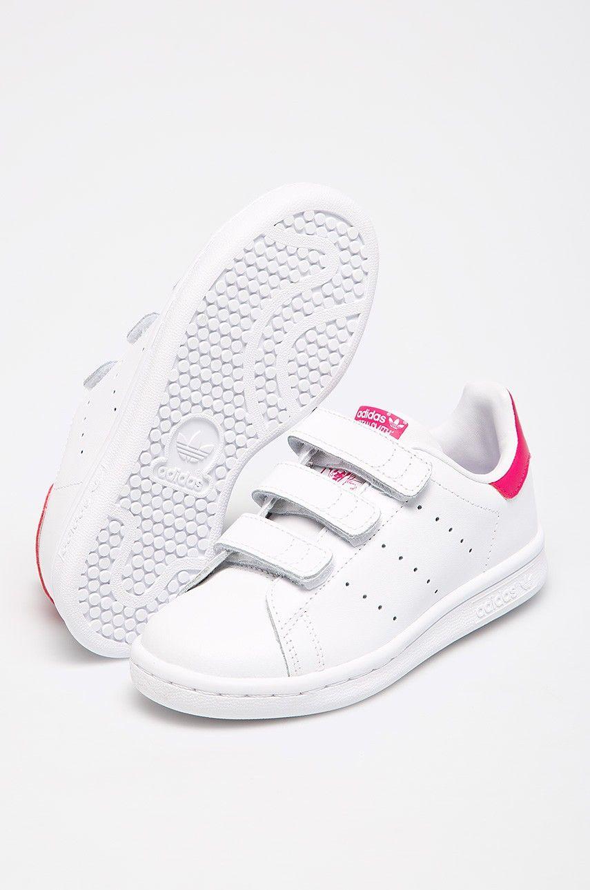 Adidas Originals Buty Dzieciece Stan Smith Cf C Adidas Originals Kids Shoes Shoes World