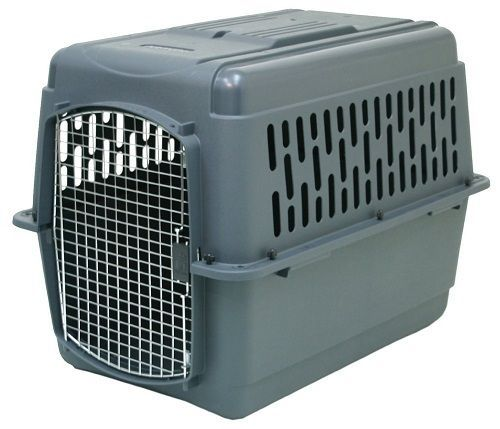 Pet Porter 2 Kennel Travel Airline Crate Safe Cat Dog Trip Carrier Storage Cage #Petsmate