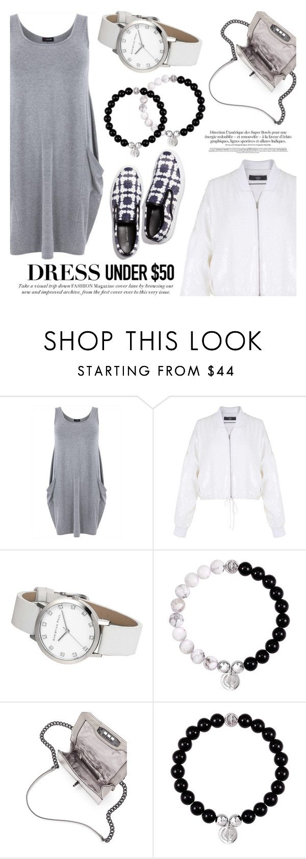 """""""Dress Under $50"""" by christianpaul ❤ liked on Polyvore featuring TIBI, Rebecca Minkoff, contestentry, Dressunder50 and christianpaul"""